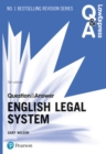 Law Express Question and Answer: English Legal System - Book