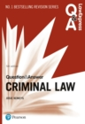 Law Express Question and Answer: Criminal Law - Book
