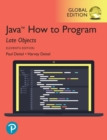 Java How to Program, Late Objects, Global Edition - Book