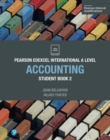 Pearson Edexcel International A Level Accounting Student Book - Book