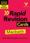 York Notes for AQA GCSE (9-1) Rapid Revision Cards: Macbeth - eBook