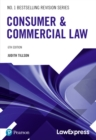 Consumer & Commercial Law - Book