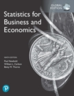 Statistics for Business and Economics, Global Edition - Book