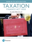 Melville's Taxation: Finance Act 2020 - Book