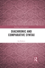 Diachronic and Comparative Syntax - eBook