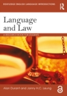 Language and Law : A resource book for students - eBook