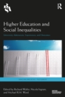Higher Education and Social Inequalities : University Admissions, Experiences, and Outcomes - eBook