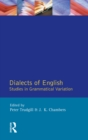 Dialects of English : Studies in Grammatical Variation - eBook