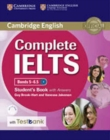 Complete : Complete IELTS Bands 5-6.5 Student's Book with Answers with CD-ROM with Testbank - Book