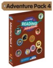 Cambridge Reading Adventures Orange and Turquoise Bands Adventure Pack 4 with Parents Guide - Book