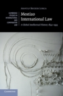 Mestizo International Law : A Global Intellectual History 1842-1933 - Book