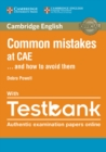 Common Mistakes at CAE... and How to Avoid Them Paperback with Testbank - Book