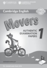 Cambridge English Movers 1 for Revised Exam from 2018 Answer Booklet : Authentic Examination Papers - Book