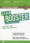 Cambridge English Exam Boosters : Cambridge English Exam Booster for First and First for Schools without Answer Key with Audio: Comprehensive Exam Practice for Students - Book
