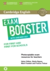 Cambridge English Exam Boosters : Cambridge English Exam Booster for First and First for Schools with Answer Key with Audio: Photocopiable Exam Resources for Teachers - Book