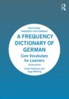 A Frequency Dictionary of German : Core Vocabulary for Learners - eBook