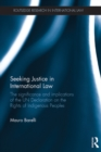 Seeking Justice in International Law : The Significance and Implications of the UN Declaration on the Rights of Indigenous Peoples - eBook