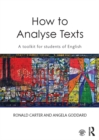 How to Analyse Texts : A toolkit for students of English - eBook
