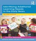 Identifying Additional Learning Needs in the Early Years - eBook