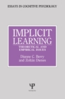Implicit Learning : Theoretical and Empirical Issues - eBook