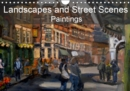 Landscapes and Street Scenes Paintings 2019 : Landscapes and street scenes, primarily based in the UK - Book
