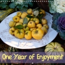 One Year of Enjoyment 2019 : Yummy food in 12 inviting pictures - Book