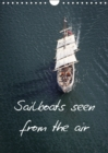 Sailboats seen from the air 2019 : Air photographs of old sailboats - Book