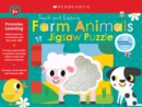 Farm Animals Jigsaw Puzzle: Scholastic Early Learners (Puzzles) - Book