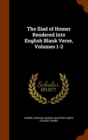 The Iliad of Homer Rendered Into English Blank Verse, Volumes 1-2 - Book