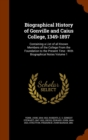 Biographical History of Gonville and Caius College, 1349-1897 : Containing a List of All Known Members of the College from the Foundation to the Present Time: With Biographical Notes Volume 1 - Book