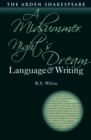 A Midsummer Night's Dream: Language and Writing - Book