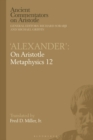 'Alexander': On Aristotle Metaphysics 12 - eBook