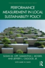 Performance Measurement in Local Sustainability Policy - eBook