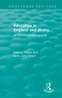 Education in England and Wales : An Annotated Bibliography - eBook