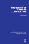 Problems of Chinese Education - eBook
