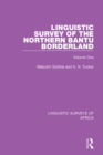 Linguistic Survey of the Northern Bantu Borderland : Volume One - eBook