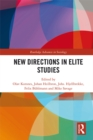 New Directions in Elite Studies - eBook