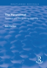 The Paranormal : Research and the Quest for Meaning - eBook