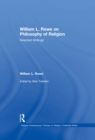 William L. Rowe on Philosophy of Religion : Selected Writings - eBook