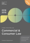 Core Statutes on Commercial & Consumer Law 2018-19 - Book