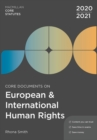 Core Documents on European and International Human Rights 2020-21 - Book