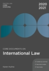 Core Documents on International Law 2020-21 - Book