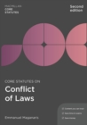 Core Statutes on Conflict of Laws - Book