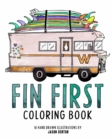 FIN FIRST Coloring Book - Book