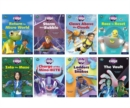 Project X CODE: White and Lime Book Bands, Oxford Levels 10 and 11: Sky Bubble and Maze Craze, Mixed Pack of 8 - Book