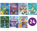 Project X CODE: White and Lime Book Bands, Oxford Levels 10 and 11: Sky Bubble and Maze Craze, Class Pack of 24 - Book