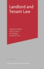 Landlord and Tenant Law - Book