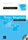 Total English Pre-Intermediate Workbook with Key and CD-Rom Pack - Book