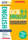 English Language and Literature Revision Guide for All Boards - Book