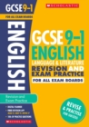 English Language and Literature Revision and Exam Practice Book for All Boards - Book